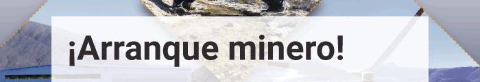 ¡Arranque minero!