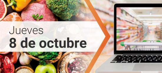 Jornada Tecno Fidta conecta y Red Alimentaria: 8 de Octubre